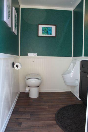 Mini Suite Men's Restroom