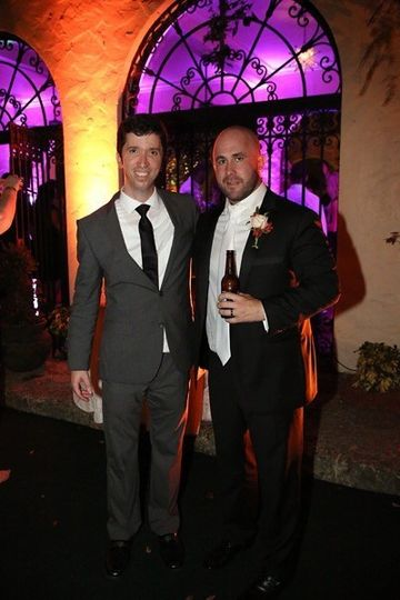 The groom and the planner