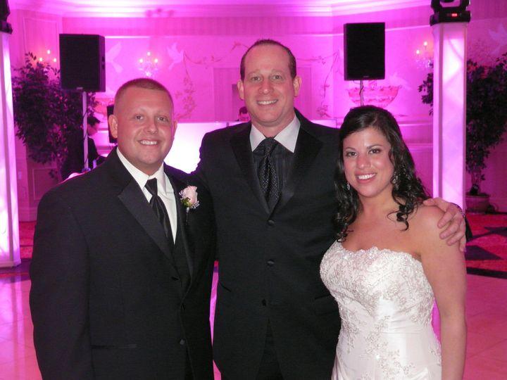 bride groom with evan nye