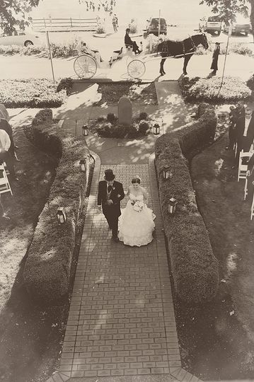 A historic wedding in WA