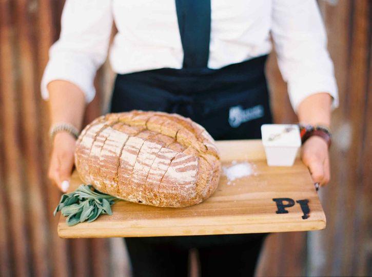 Rustic Bread Loaves & Maldon Salt