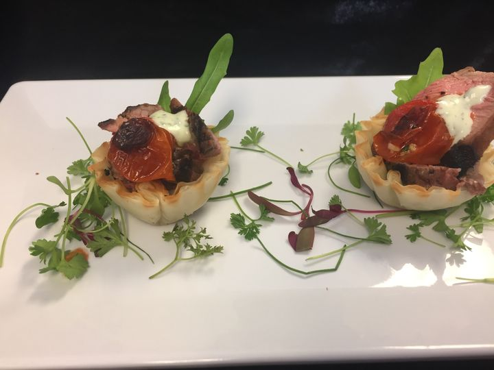 new york strip tartlet