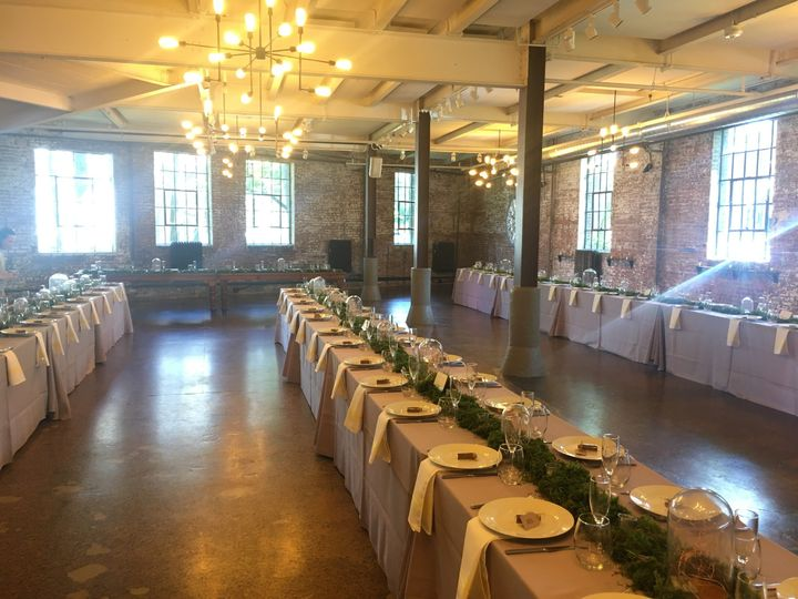 Long table sey up