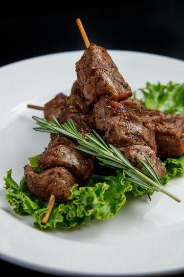 Banquet Menu - Hors D'Oeuvres