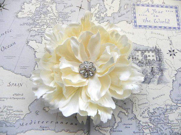 She and the Sea Champagne Ivory Peony