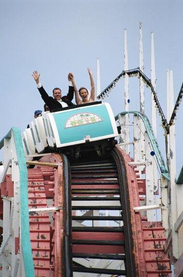Roll coaster ride