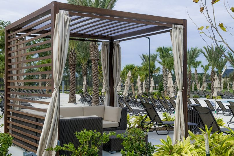 Cabanas for relaxing day of