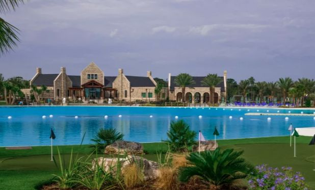 Lagoon and Mansion