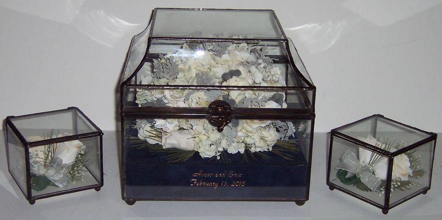 flat top glass box amee polk