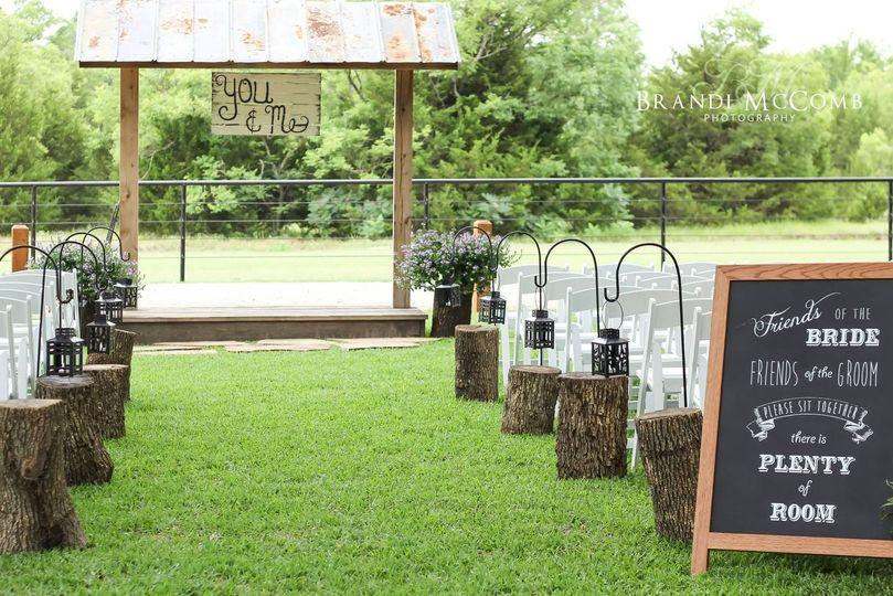 Farmhouse Wedding Ceremony Reception Venue Texas