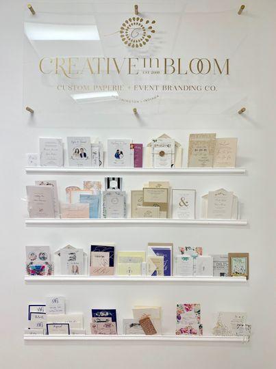 Invitation Display Wall