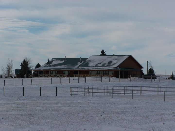 Exterior view of the Prairie Sky Ranch