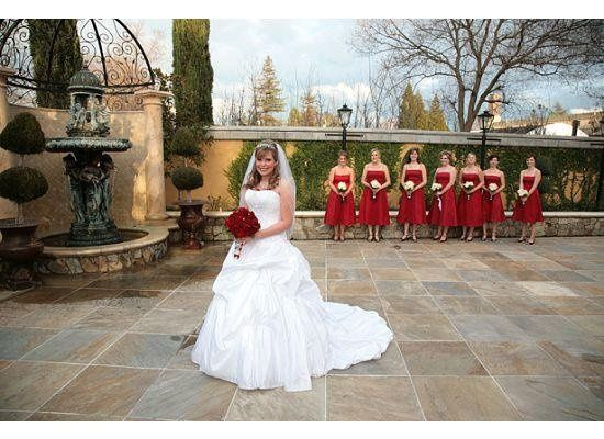 Melanie with bridal party at the Arden Hills Resort Club & Spa