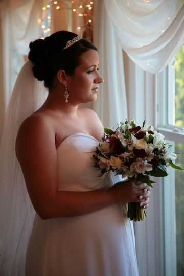 Lindsay was married at The Beda Place in July 2007.  She was 5 months pregnant with Jasmine!