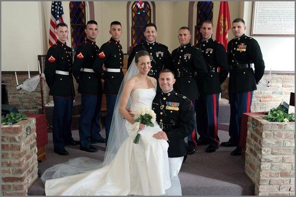 Danica & Gary married at the Landmark Baptist Church on Memorial Day weekend 2009