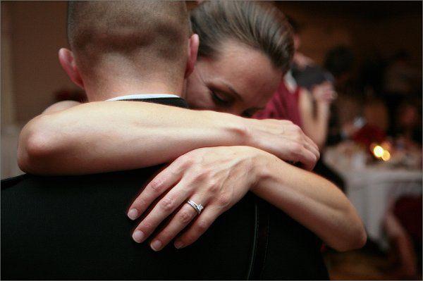 Danica & Gary ~ first dance at the Lake Natoma Inn