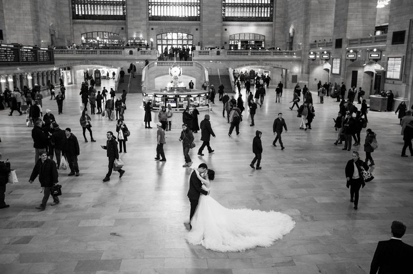 New York Wedding, Grand Central Terminal