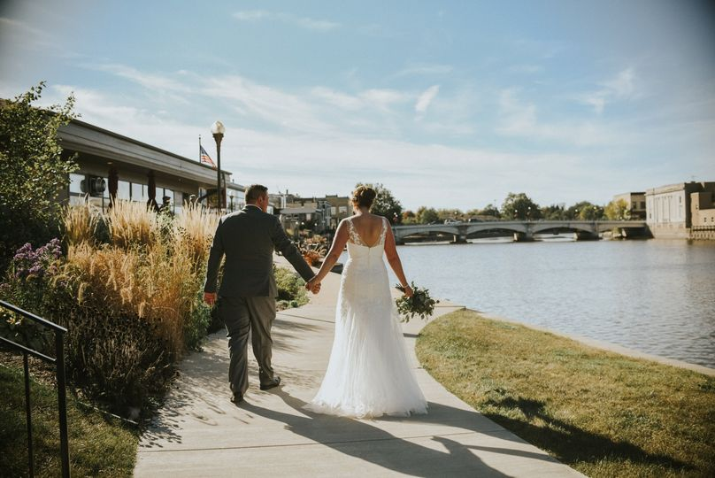 Wedded river walk