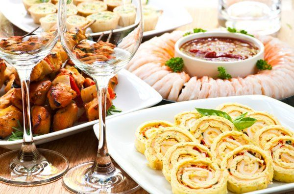 Specialty and Traditional Hors D'oeavres to meet your wedding needs