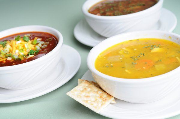 Our delicate soups are made with fresh, rich ingredients.