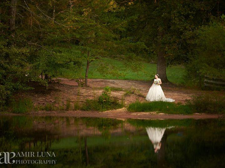 Tmx Bride By Pond Reflection 51 1018098 157819362153998 Walnut Cove, NC wedding venue