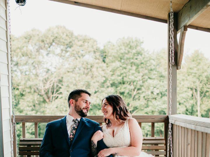 Tmx Bride Groom On Porch Swing Bridal Cottage Chateau Vie 51 1018098 157819365149220 Walnut Cove, NC wedding venue
