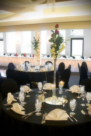 Another view of our banquet room, which seats 180 comfortably.