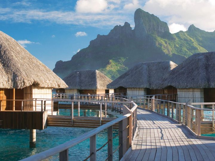 Tmx 1470174703456 Four Seasons Plank Bora Bora North Wales wedding travel