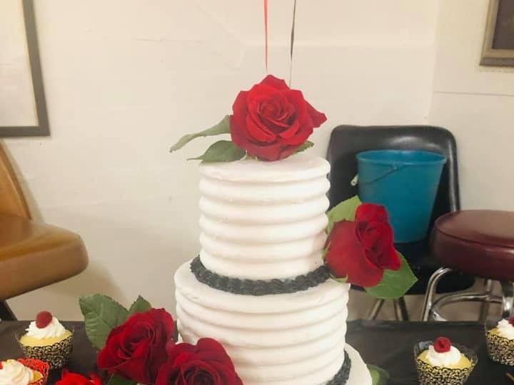 Tmx Redwhiteandblack 51 601198 1568823884 Fort Collins, Colorado wedding cake