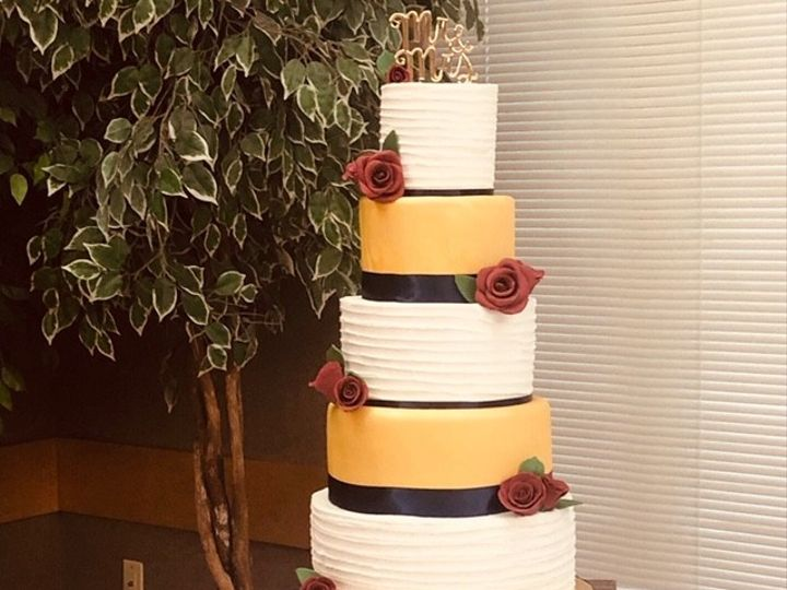 Tmx Redyellowandwhitecake 51 601198 1568823848 Fort Collins, Colorado wedding cake