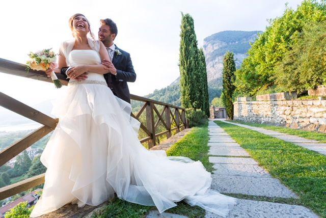 My beautiful wedding couple Michela Lunardi Events
