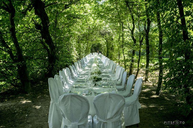 En plein air wedding Michela Lunardi Events