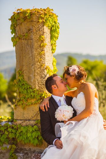 My lovely bride and groom Michela Lunardi Events