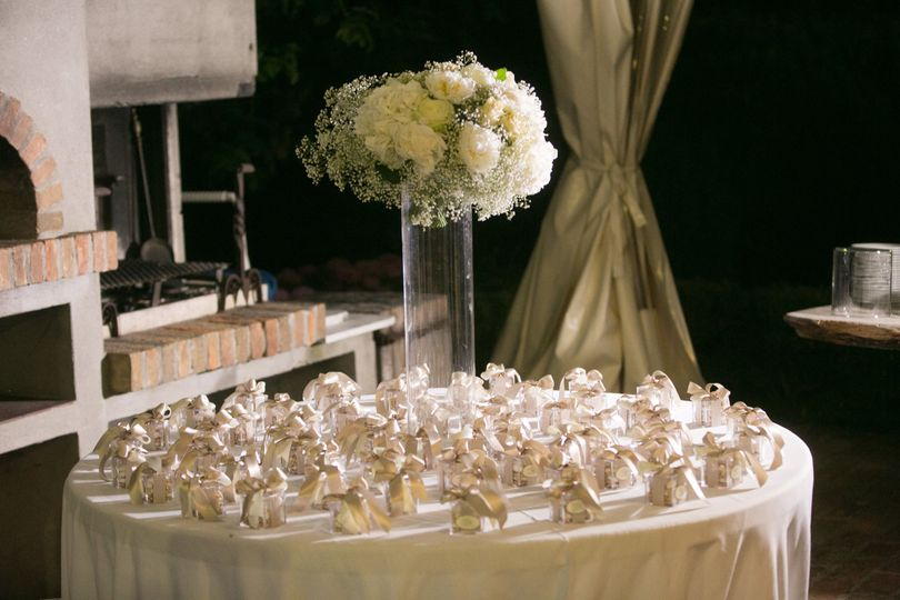 Wedding favours for the guests Michela Lunardi Events