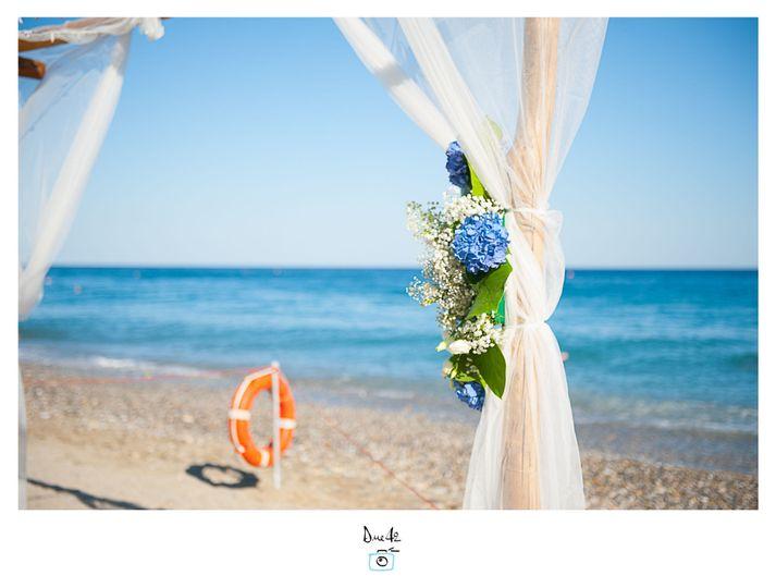 Beach wedding Michela Lunardi Events