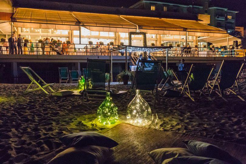 Beach party Michela Lunardi Events