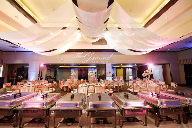 Grand ballroom - food tasting