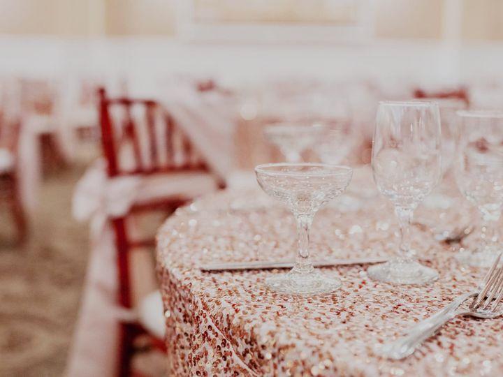 Tmx Rose Gold Sequin Linen 51 21198 Long Beach, CA wedding venue