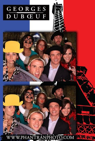 beaujolais nouveau 2012 photo booth example