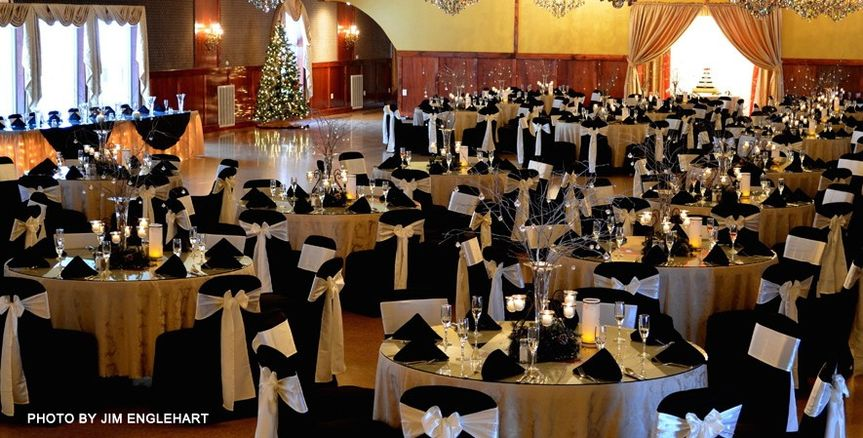 Elegant wedding space