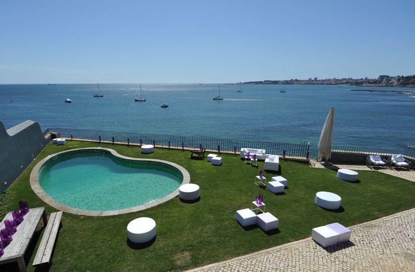 Villa São Paulo -Estoril - Portugal http://www.lisbonweddingplanner.com |...