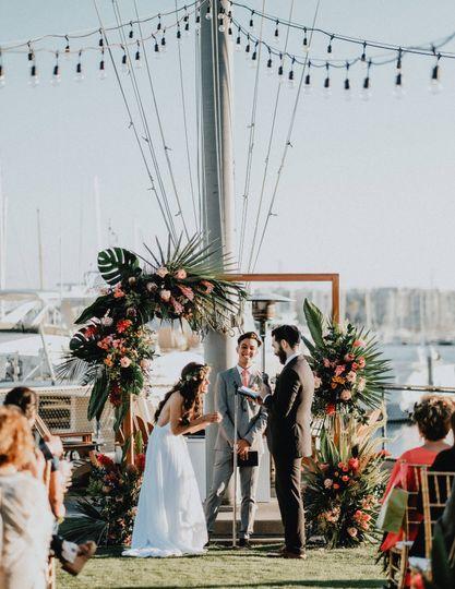 Micro Weddings in the Marina