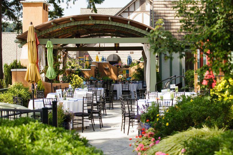 wedding venues bainbridge island mini bridal