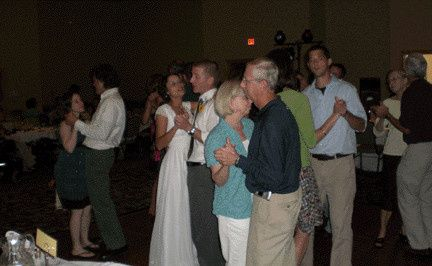 You want to be surrounded by love on the dance floor. Even Grandpa & Grandma will come out with you.