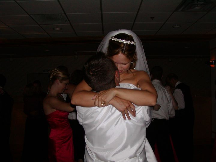 Couldn't resist. The look of love as he lifts up his beautiful bride.