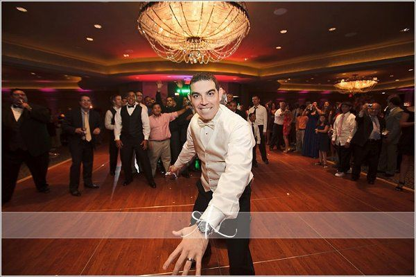 Fun groom