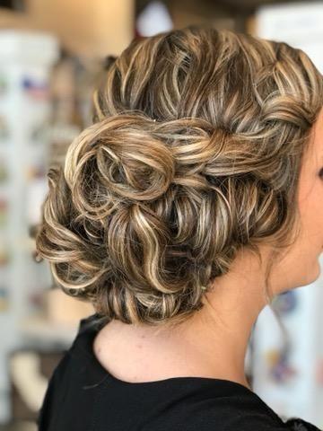 Hairdo details