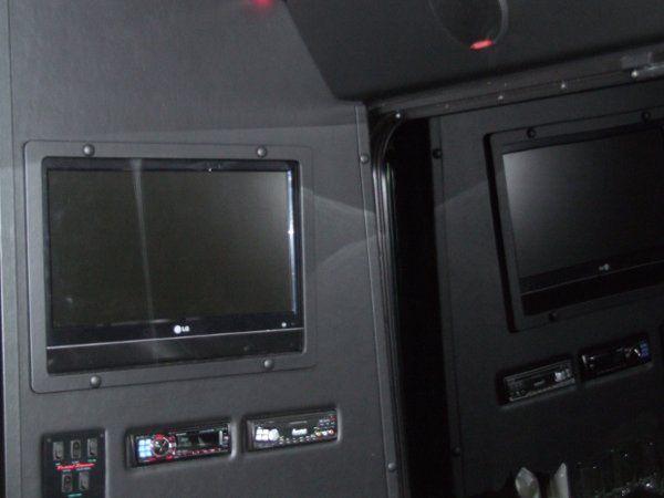 TV, AM/FM/MP3/DVD Player