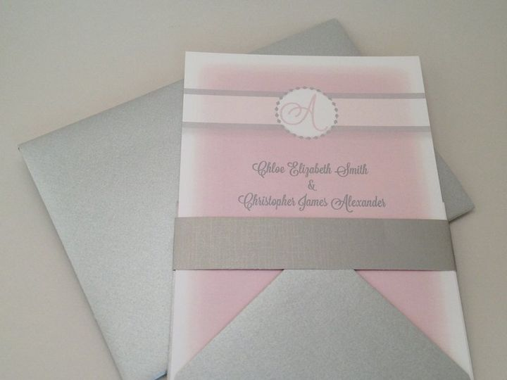 Tmx 1360159966273 Pink Stratford wedding invitation