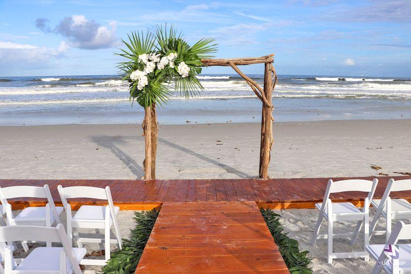 Beachwood Wedding Arch